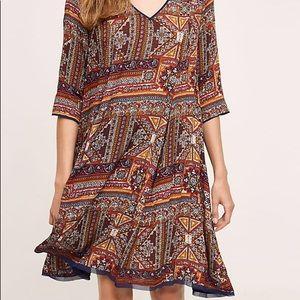 Anthropologie Holding Horses Medra Tunic Dress S